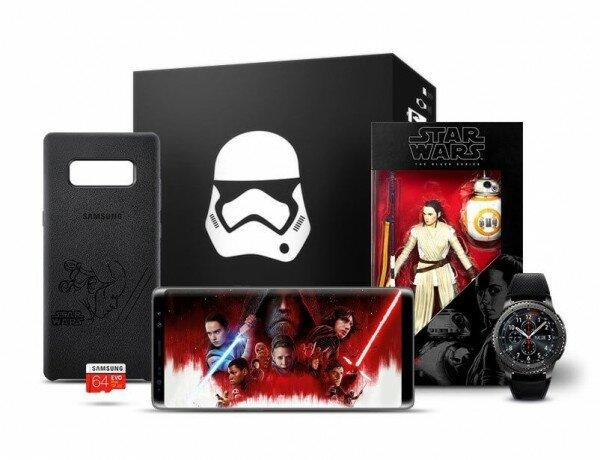 Samsung Galaxy Note 8 Star Wars Paketi Resimleri