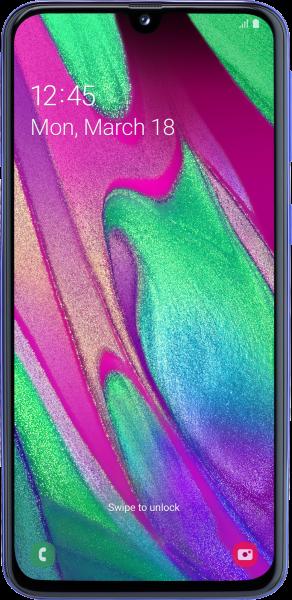 Samsung Galaxy A40 Resimleri