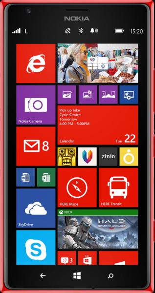 Nokia Lumia 1520 Resimleri