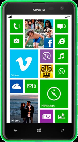 Nokia Lumia 625 Resimleri