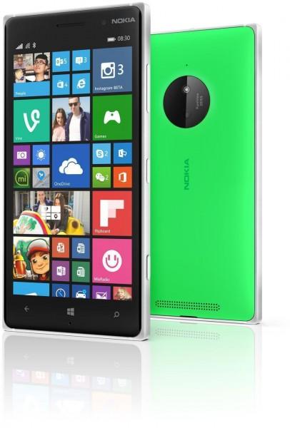 Nokia Lumia 830 Resimleri