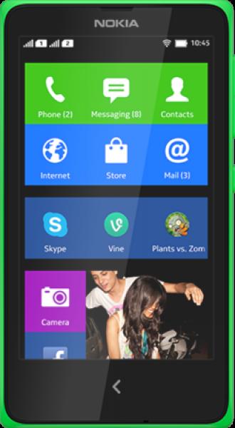 Nokia X (2014) (Çift SIM) Resimleri