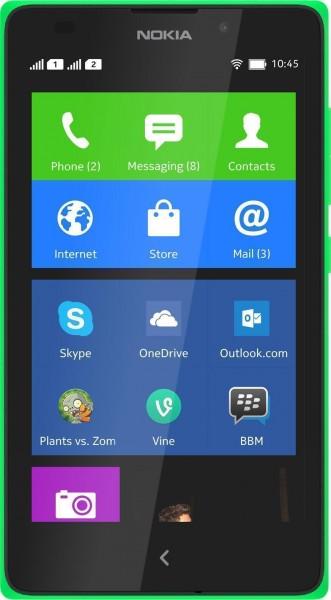 Nokia XL (Çift SIM) Resimleri