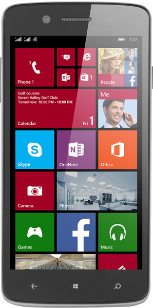 Prestigio MultiPhone 8500 DUO Windows Resimleri
