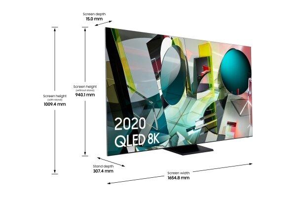 Samsung QE75Q950T Ultra HD (8K) Resimleri