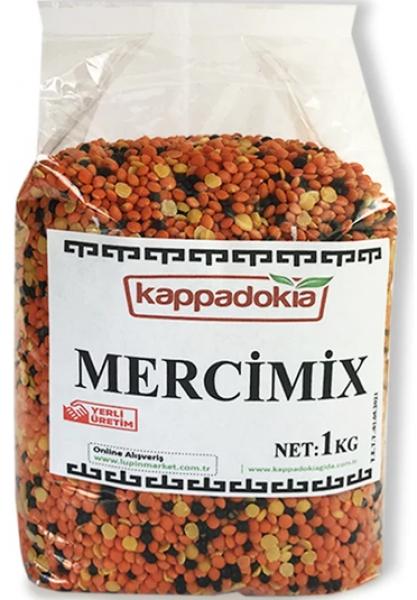 Kappadokia Mercimix Karışık Mercimek 1 kg Resimleri