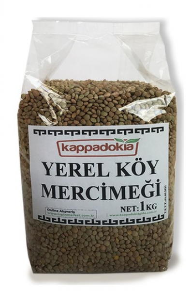 Kappadokia Yeşil Mercimek 1 kg Resimleri
