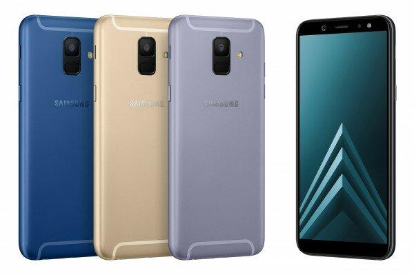 Samsung Galaxy A6 Resimleri