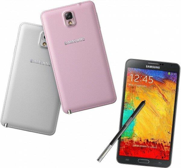Samsung Galaxy Note 3 Resimleri