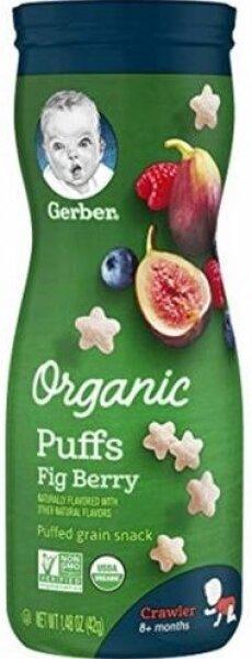 Gerber İncir Blueberry Ahududu Aromalı Sağlıklı Atıştırmalık 1.48 oz Gıda Takviyesi Resimleri
