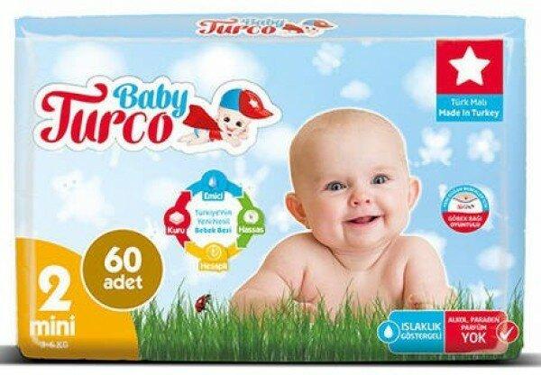 Baby Turco 2 Beden Bebek Bezi Resimleri