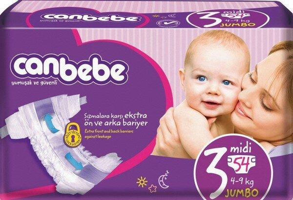Canbebe 3 Beden Bebek Bezi Resimleri