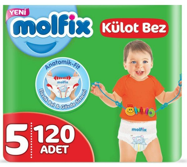 Molfix Külot Bez 5 Beden Bebek Bezi Resimleri