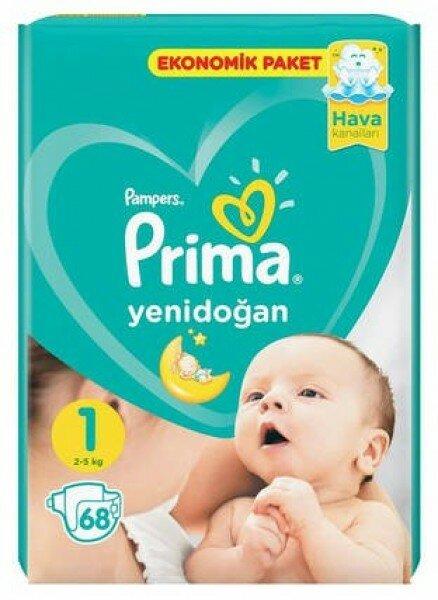 Prima Yenidoğan 1 Beden Bebek Bezi Resimleri